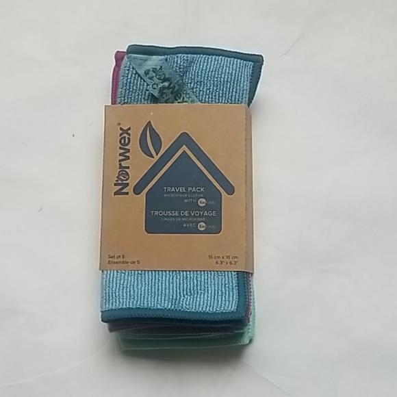 Norwex Travel enviro cloth set of 5